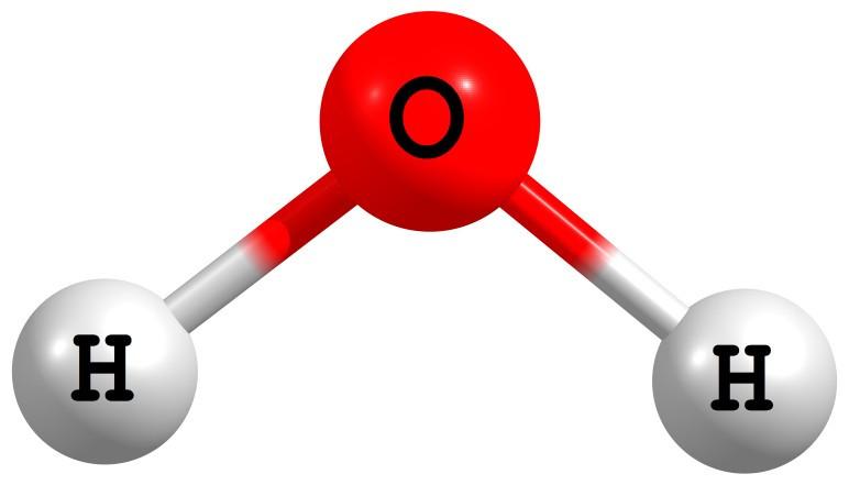 Resultado de imagem para molécula água