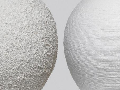 신예지, 이휘민 석사학위청구전 <질감의 형태(Shape of Texture)>
