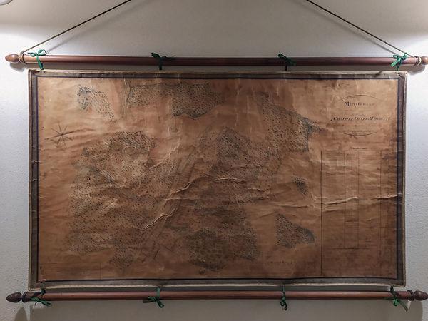 Mappa Antica Mulino di Celle