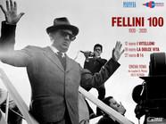 Locandina Fellini 100