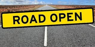 Pine Mt Road at Sandy Creek is OPENED!!!!