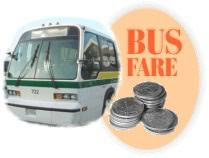 Bus Fares to rise on Monday 10th February