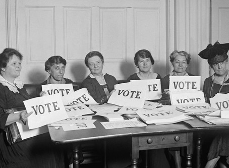 Women's Suffrage, A Look Back, and Forward, with Sylvia Nugent