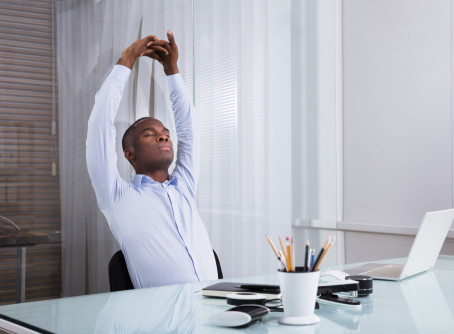 3 Simple Stretches for Stress Relief