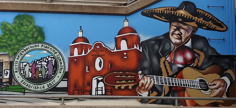 Barrio Street Mural