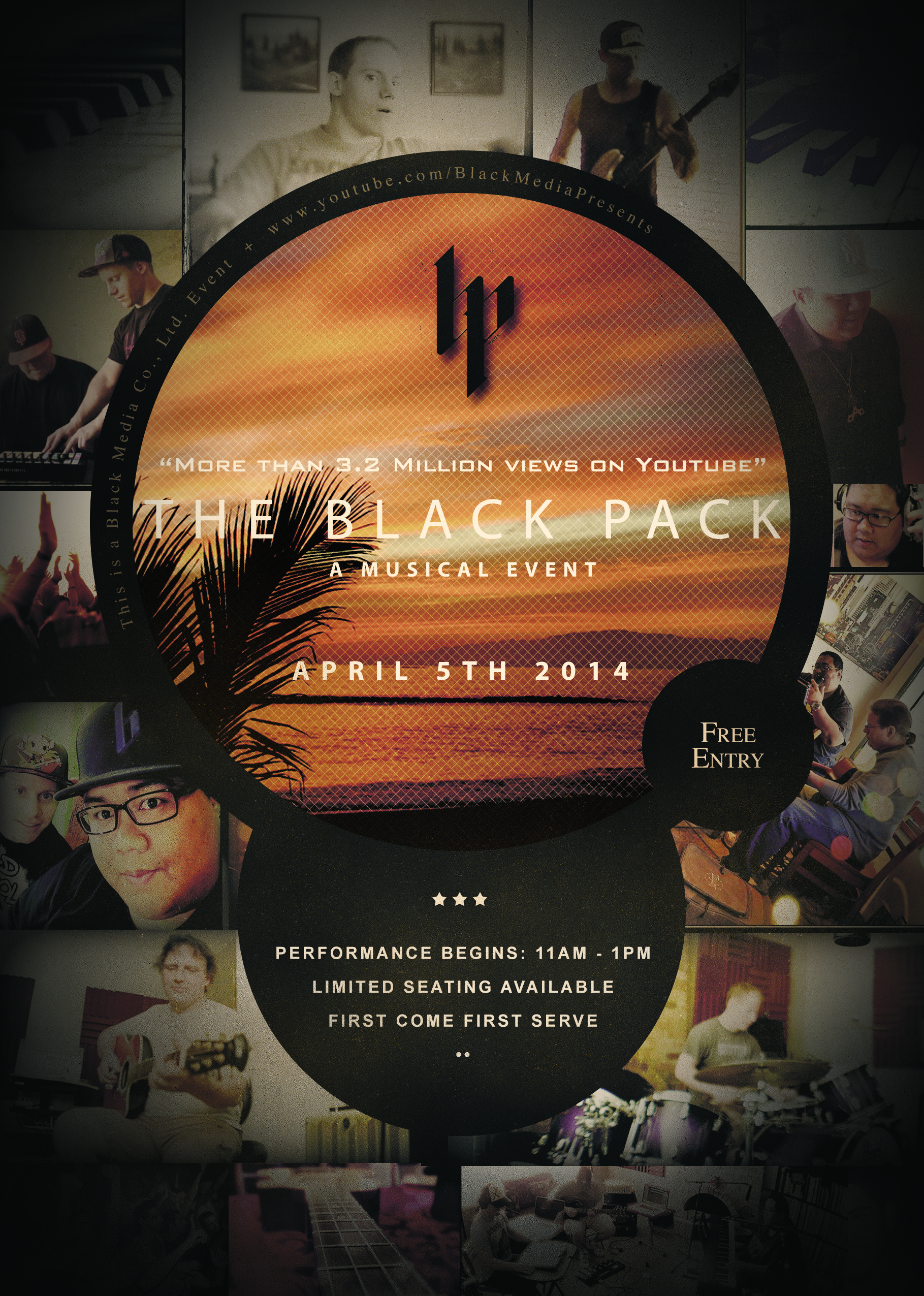 Black Pack Live at Papillon Gourmet