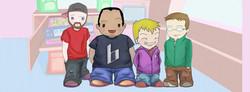 Real Life into Cartoon Characters!