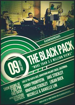 Black Pack Live Show at Kaffa Cafe