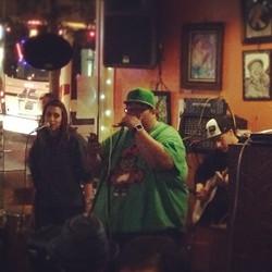 Performing at Bobby G's in Berekley