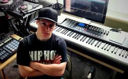 Jake Stockley in the Studio