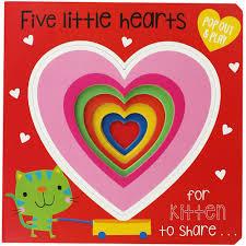 Libro Infantil  Pop Out Play Five Little Hearts