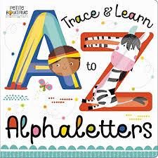 Libro Infantil Trace & Learn Alphaletters