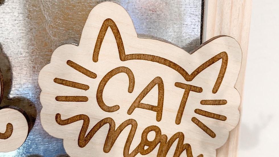 Cat Mom magnet