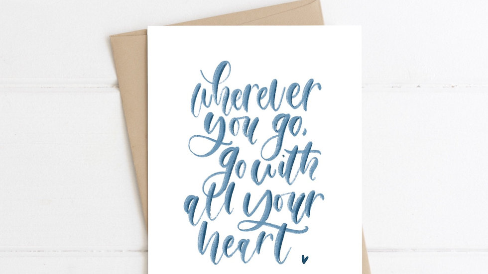 Wherever You Go card