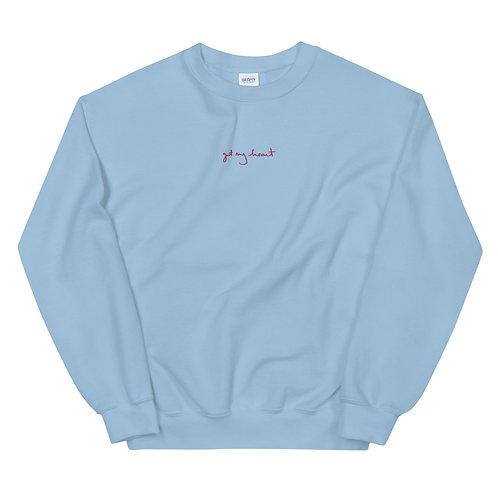 GOT MY HEART Unisex Embroidered Sweatshirt