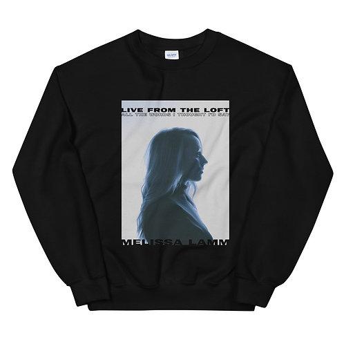 LIVE FROM THE LOFT Unisex Sweatshirt