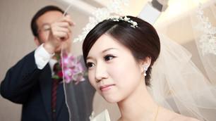 Ting-Q 迎娶教會儀式+午宴 台北青青時尚會館
