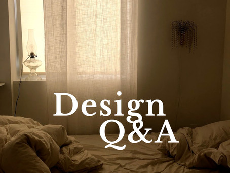 Design Q&A: Tips for Small Spaces