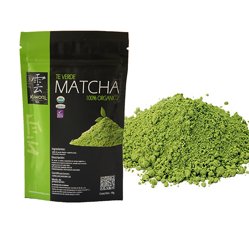 Organic Ground Matcha 50g