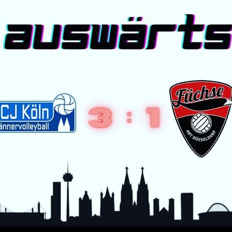 Spielbericht ART Düsseldorf - FC Junkersdorf Köln II: 1:3 (17:25; 25:21; 16:25,; 16:25) 05.09.2020