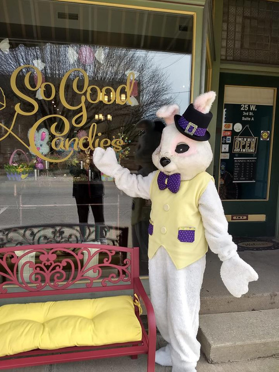2019 april second saturday easter bunny