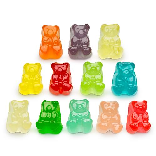 Albanese 12-Flavor Gummi Bears (One Pound)