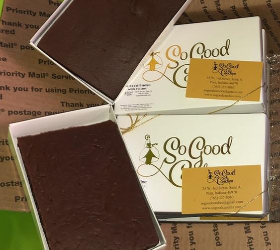 Fundraising - So Good Fudge in pound box