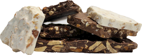 Almond or Pecan Bark (One Pound)