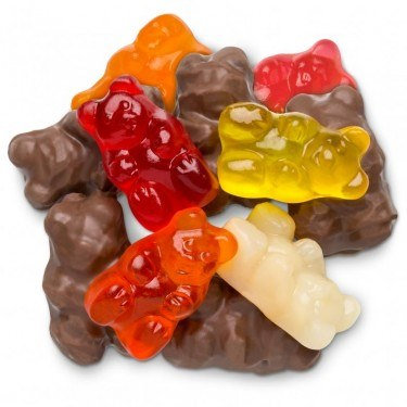 Milk Chocolate Gummi Bears (One Pound)