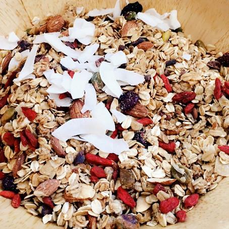 Homemade Cinnamon Maple Granola