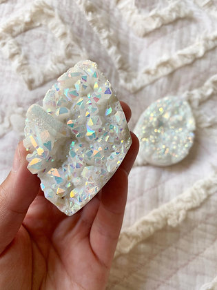 White Angel Aura Clusters