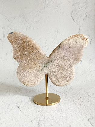 Pink Amethyst Butterfly 02