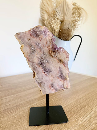 Pink Amethyst Stand 03