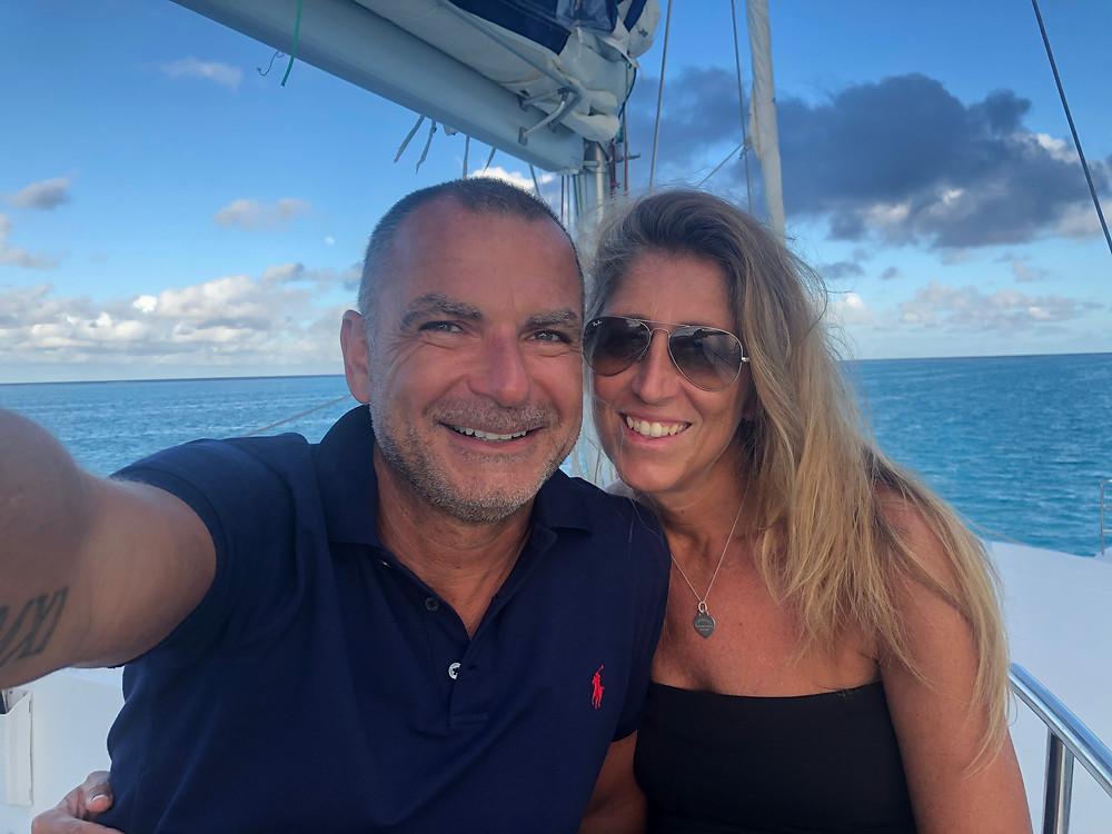 Polinesia in catamarano