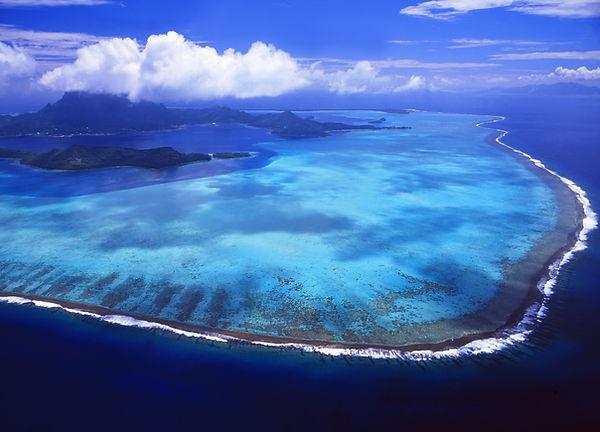 Motu intorno a Bora Bora