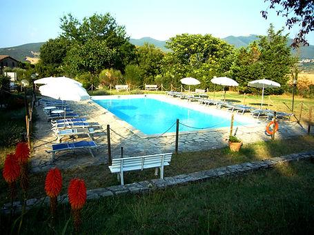 agriturismo in Umbria con piscina;agriturismo vicino Orvieto con piscina;farm holiday in Umbria with pool