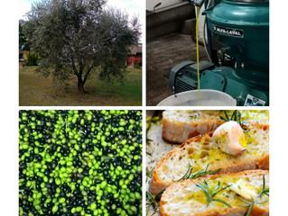 VICINO ORVIETO...AGRITURISMO LE CASETTE...IL NOSTRO OLIO.....