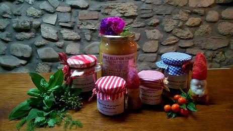 agriturismo le casette prodotti aziendali;farm holiday with organic products