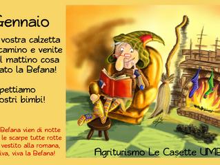 Epifania 2019 in Umbria vicino Orvieto agriturismo Le Casette
