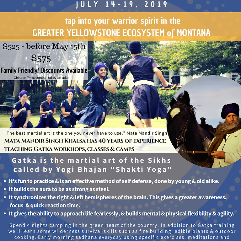 Gatka - Shakti Yoga Summer Camp