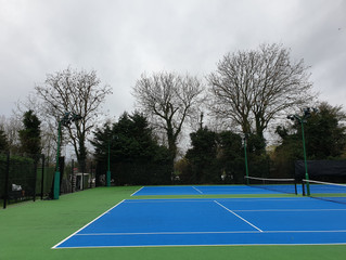 Tough day at St Neots tennis club!