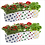 Thumbnail: Set of 10 premium colourful Dotted Grow bags(20*20*35 cms)