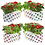 Thumbnail: Set of 20 premium colourful Dotted Grow bags(20*20*35 cms)
