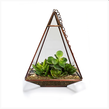 Triangular Tower Terrarium
