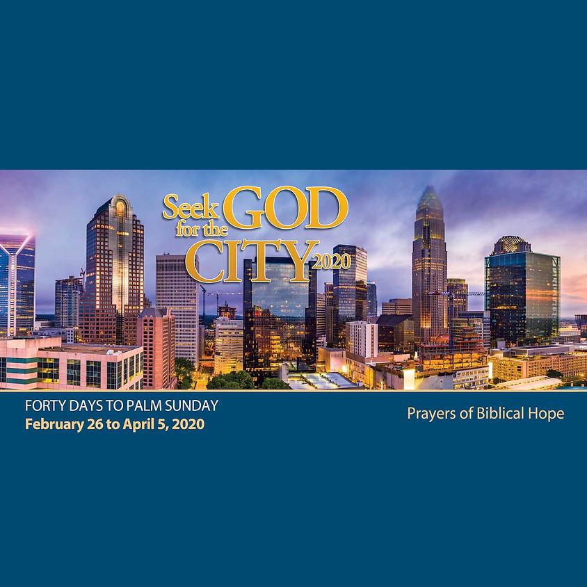 Seek God for the City 2020