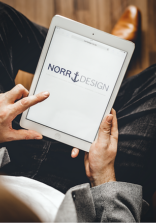 Norr Design Grafikdesign Logo Anker