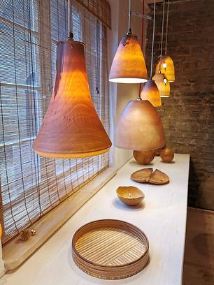 Galerie Maxluzi Lampen Design Holz