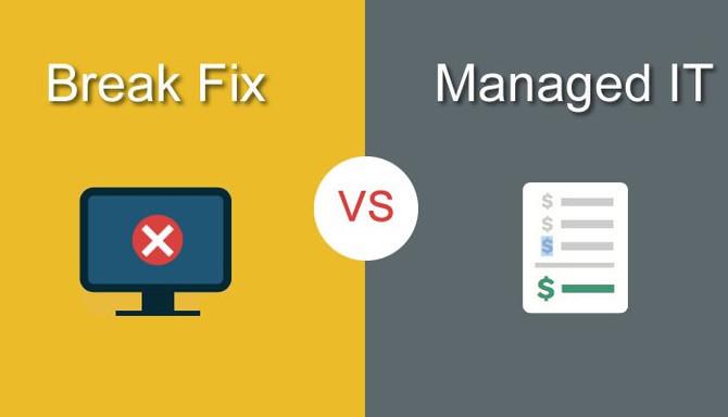 Managed IT vs. Break/Fix Model