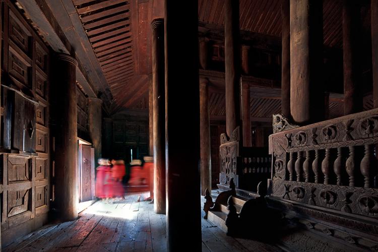 teakwood monastery 2