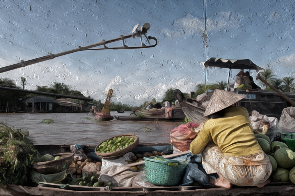 Floating Market (in oil).jpg